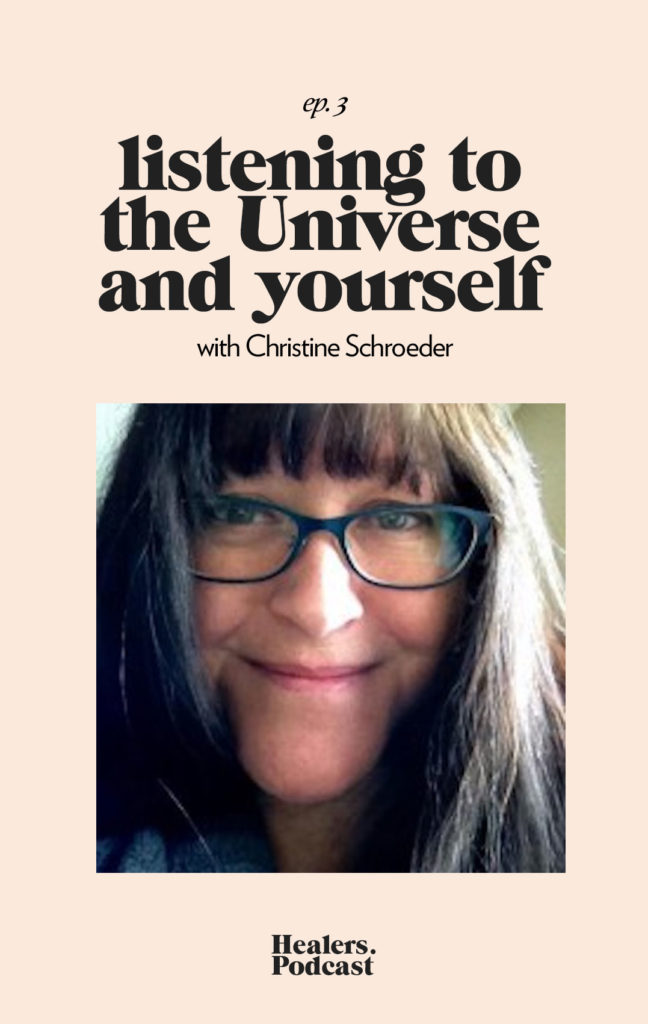 1 ep3: Christine Schroeder, Intuitive Medium | HealersWanted.com 🙏🏻 We're not here to fix you, because you aren't broken. We're here to help you heal yourself. Our trusted holistic guides, virtual healing experiences, and spiritually curious community will support you wherever you are on the journey.