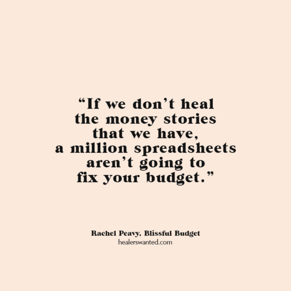Rewriting Your Money Story with Rachel Peavy of Blissful Budget