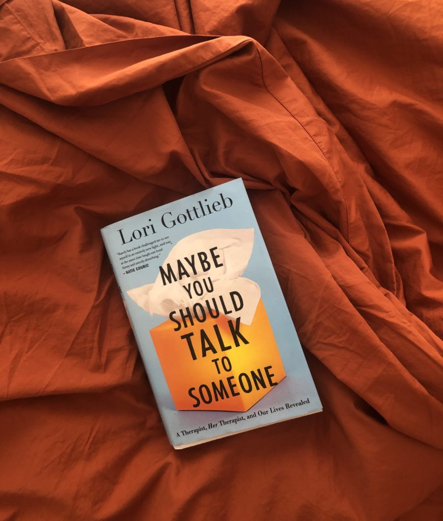 BOOK REVIEW: Maybe You Should Talk to Someone by Lori Gottlieb | For anyone who's curious about what REALLY happens in therapy or wants to feel less alone in their trauma, heartbreak or pain.