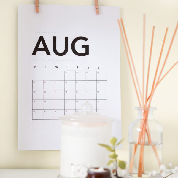 August 2019 Astrowellness Guide