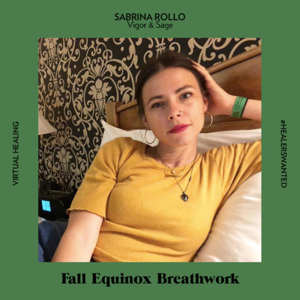 Sept. 23: Fall Equinox Breathwork