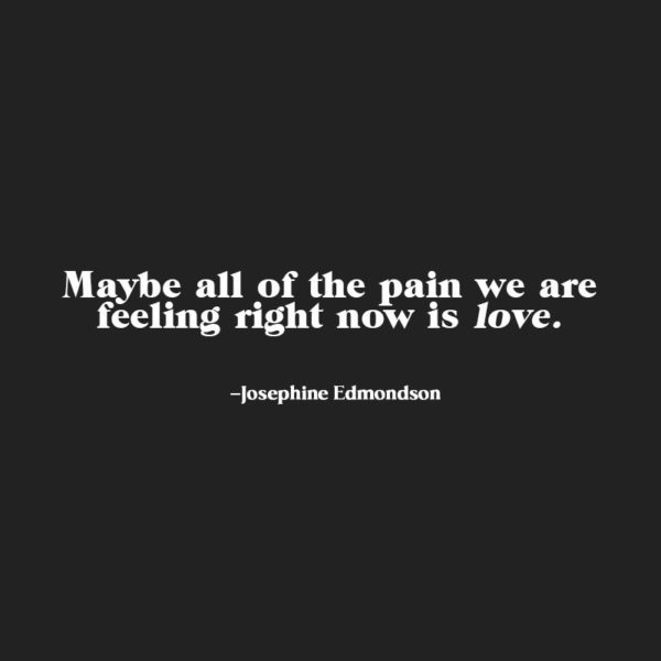 Getting Out of Your Head & Into Your Heart with Josephine Edmondson